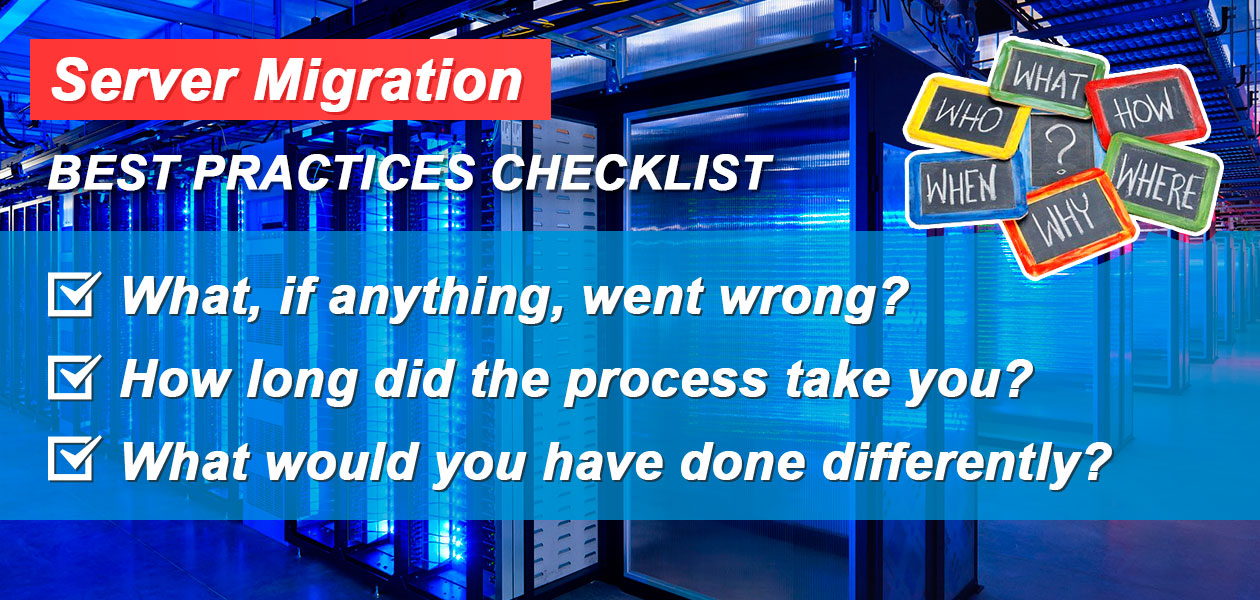 Server Migration: Best Practices Checklist