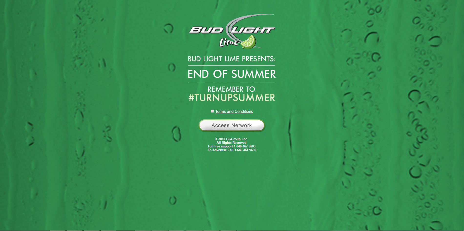 Bud Light Lime Portal