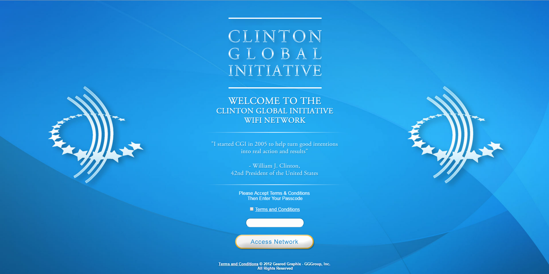 Clinton Global Initiative Portal
