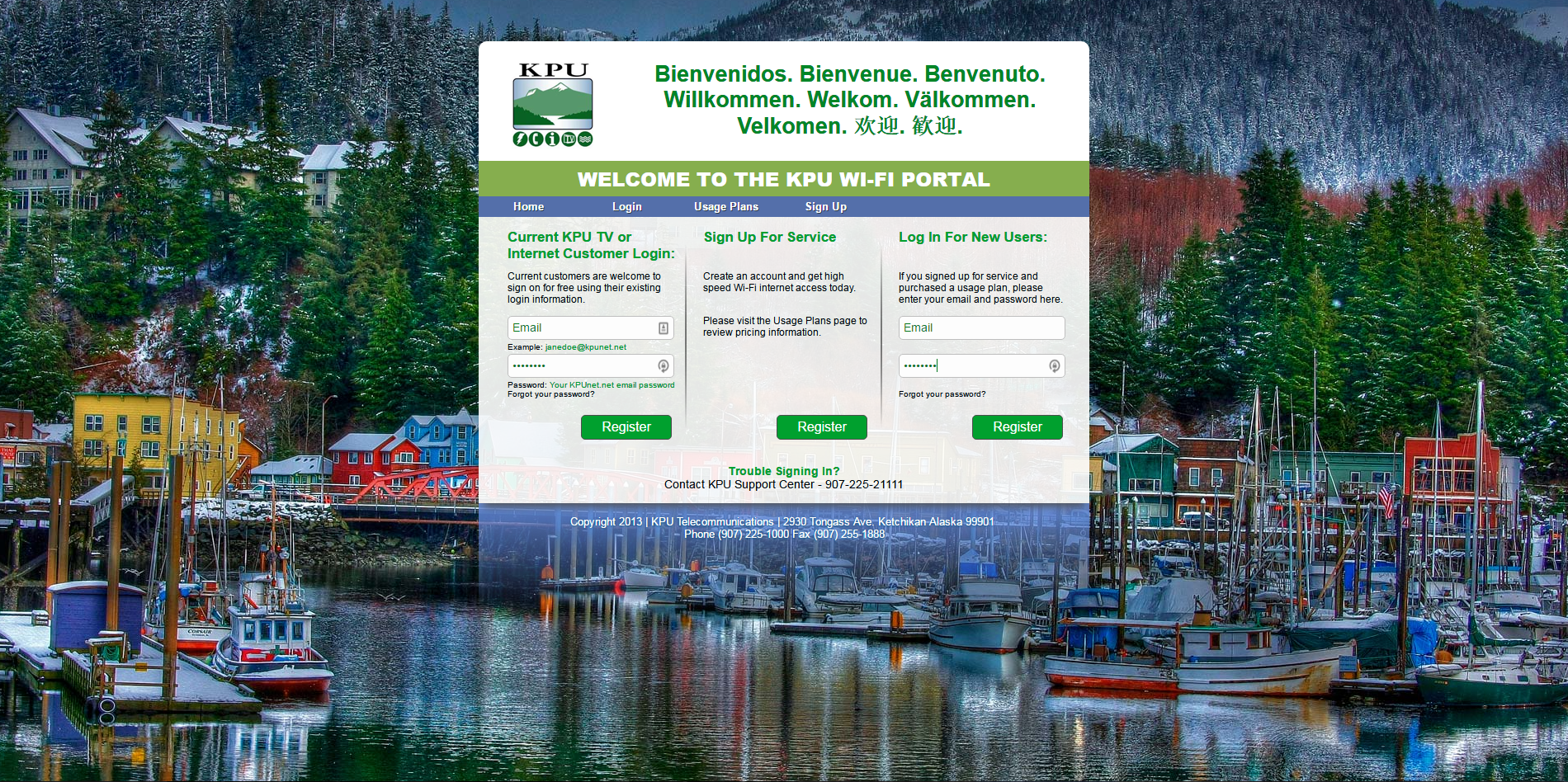 KPU Telecommunications Portal